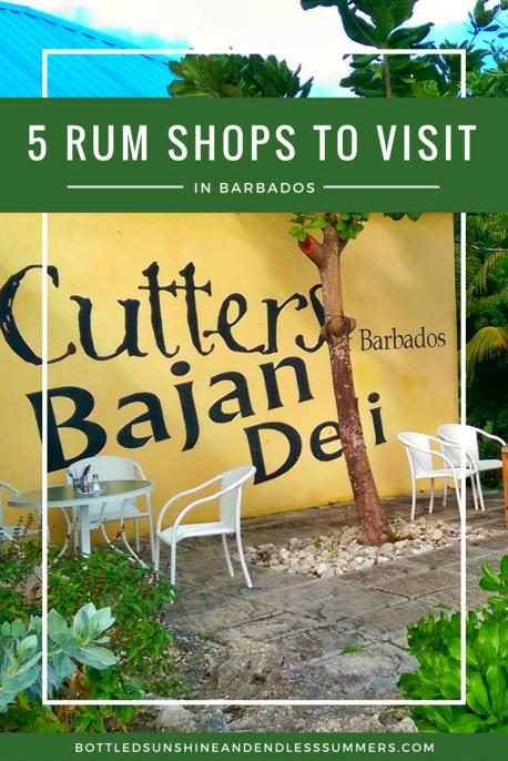5 Rum Shops To Visit In Barbados