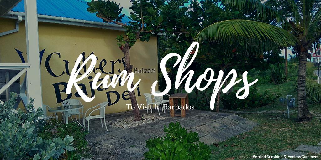 Rum Shops To Visit In Barbados
